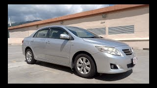 2008 Toyota Corolla Altis 1.6 E Start-Up and Full Vehicle Tour