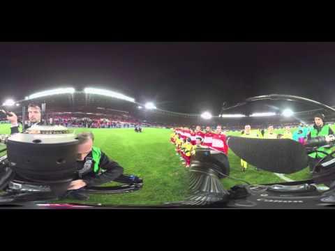 Das 360° Video vom Fußball Länderspiel Österreich - Türkei von ORF SPORT.