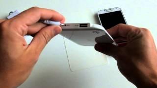 Présentationn - Chargeur QI & patch pour Galaxy s4