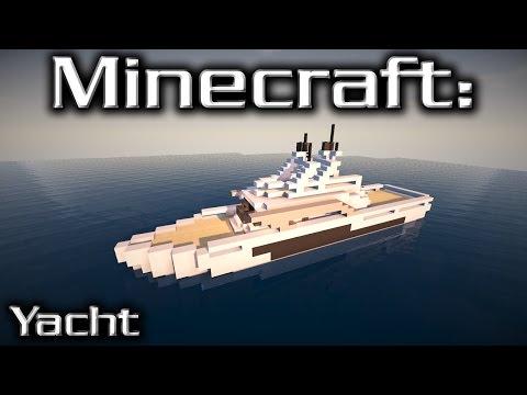 Minecraft: Medium Yacht Tutorial 2