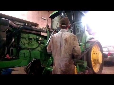 John Deere 8320t powershift rebuild pt.1