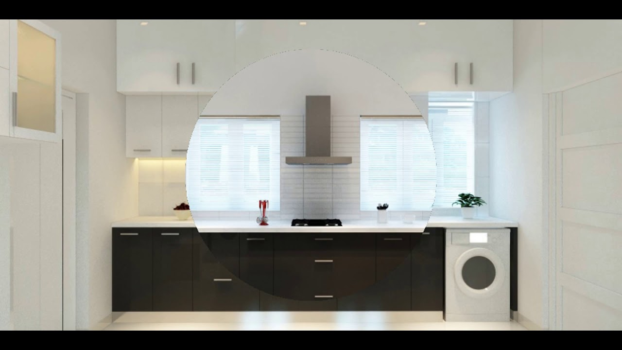 latest modular kitchen designs 2017 low cost kerala youtube. Black Bedroom Furniture Sets. Home Design Ideas