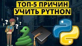 Топ-5 причин учить Python новичку прямо сейчас