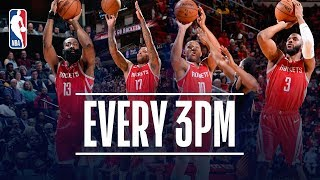 Houston Rockets Set New NBA Record For Made 3-Pointers | April 7, 2019