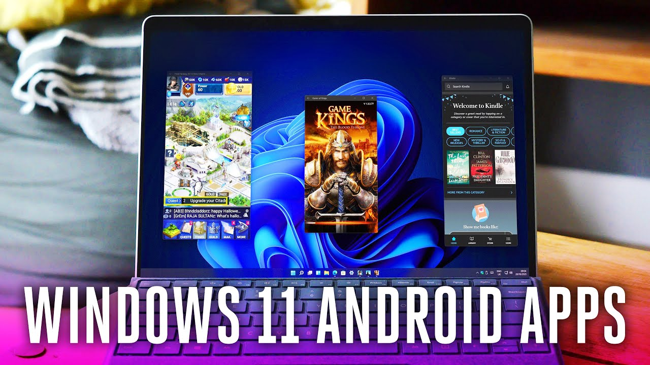 Windows 11 Android Apps First Look