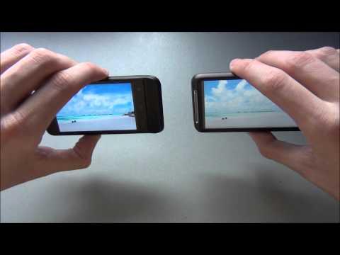 HTC One V vs. HTC Desire HD