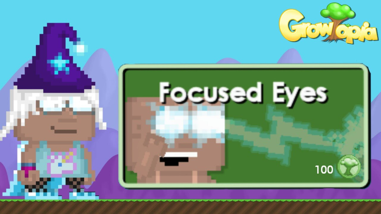 Growtopia - Purchasing Focused Eyes - YouTube