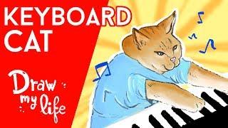RIP KEYBOARD CAT, el GATO m s FAMOSO de Internet Draw My Life en Espaol