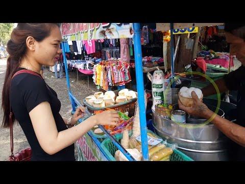 Asian Coconut Milk Ice-Cream, Coconut Milk Ice-Cream at Thai Market, coconut ice cream recipe
