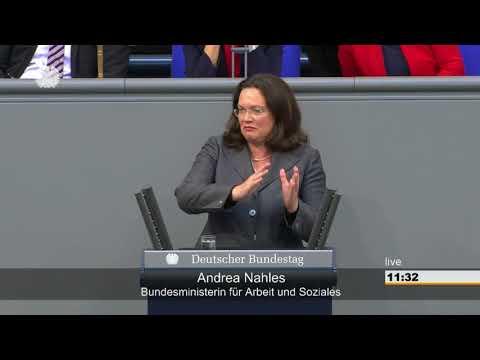 Deutschland kann mehr soziale Gerechtigkeit - Rede von Andrea Nahles