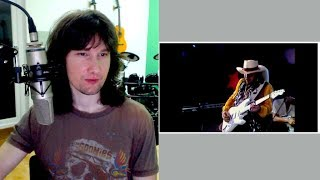 British guitarist reaction to Stevie Ray Vaughan