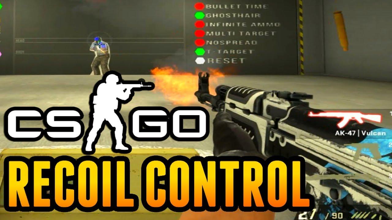 CSGO: PERFEKTES RECOIL CONTROL LERNEN! | Spray Tutorial AK47,M4a4  German/Deutsch