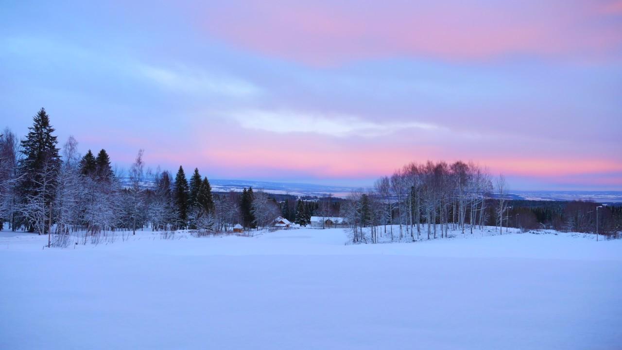 Ditlevines utsikt - Vinter