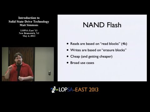 Introduction to Solid State Drive (SSD) Technology (Tutorial)