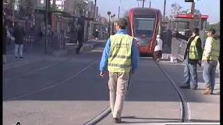 Tramway Casablanca - Accident