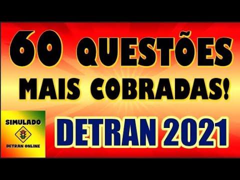Download DETRAN 2021: COMO PASSAR,  Simulado 60 questões mais cobradas na PROVA  TEÓRICA, Auto + Moto