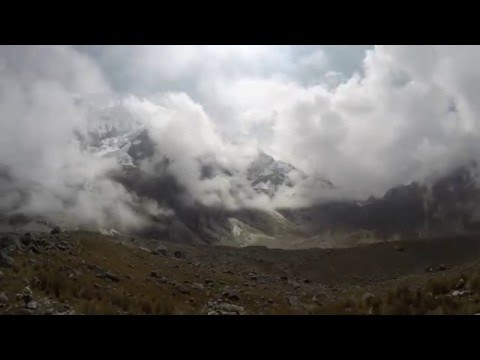 Time Lapse at the Salkantay Pass, Peru