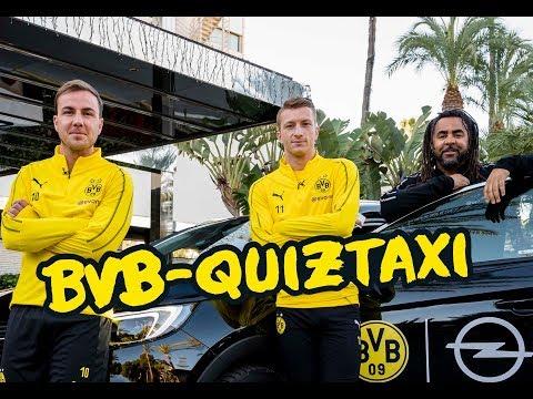 BVB-Quiztaxi in Marbella 2019 | Teil 1 mit Reus/Götze, Witsel/Diallo, Schmelzer/Piszczek, ...