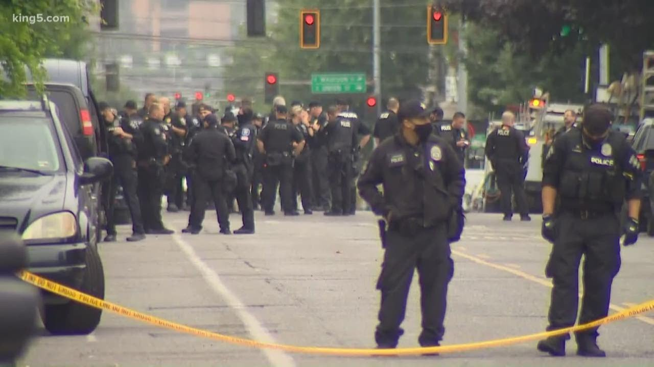 Seattle Police disperse protesters in occupied CHOP area after ...