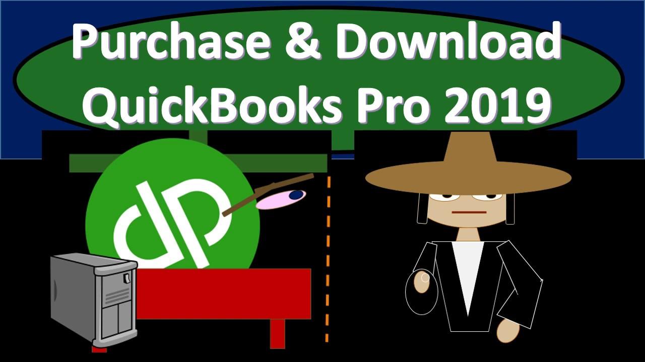 intuit quickbooks desktop pro 2019 download