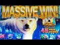 ❄ICY WILDS❄ *LIVE PLAY* FREE SPINS BIG WIN!! RED HAWK CASINO🎰