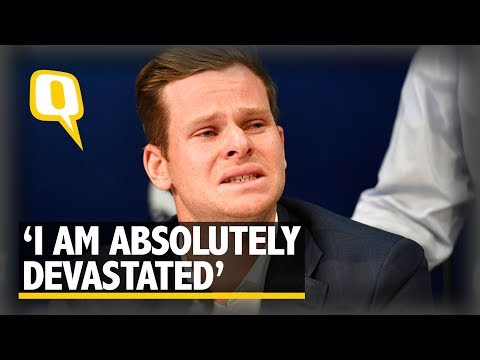 Steve Smith Breaks Down, Says He's 'Absolutely Devastated' | The Quint