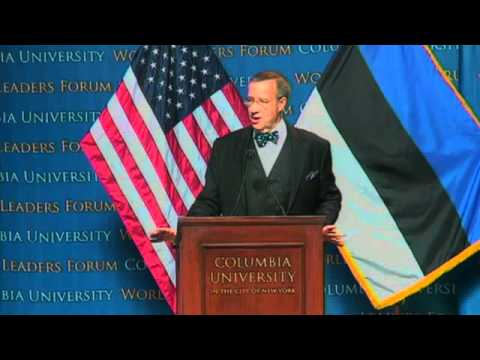 World Leaders Form: Toomas Hendrik Ilves, President of the Republic of Estonia