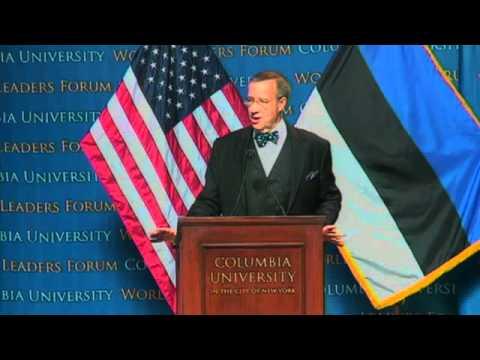 World Leaders Form: Toomas Hendrik Ilves, President of the Republic of Estonia