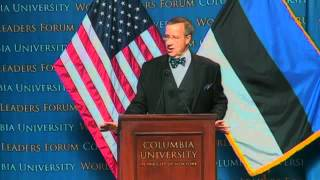 Repeat youtube video World Leaders Form: Toomas Hendrik Ilves, President of the Republic of Estonia