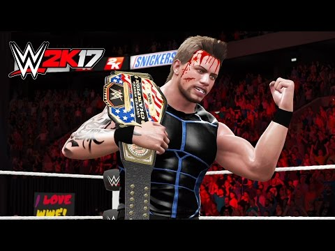 WWE UNITED STATES CHAMPIONSHIP MATCH vs RANDY ORTON!! Part 2 (WWE 2K17 My Career - Episode 13)