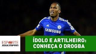 Ídolo, talentoso e artilheiro: conheça a estrela Didier Drogba