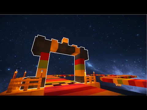 Minecraft Mario Kart 8 SNES Rainbow Road