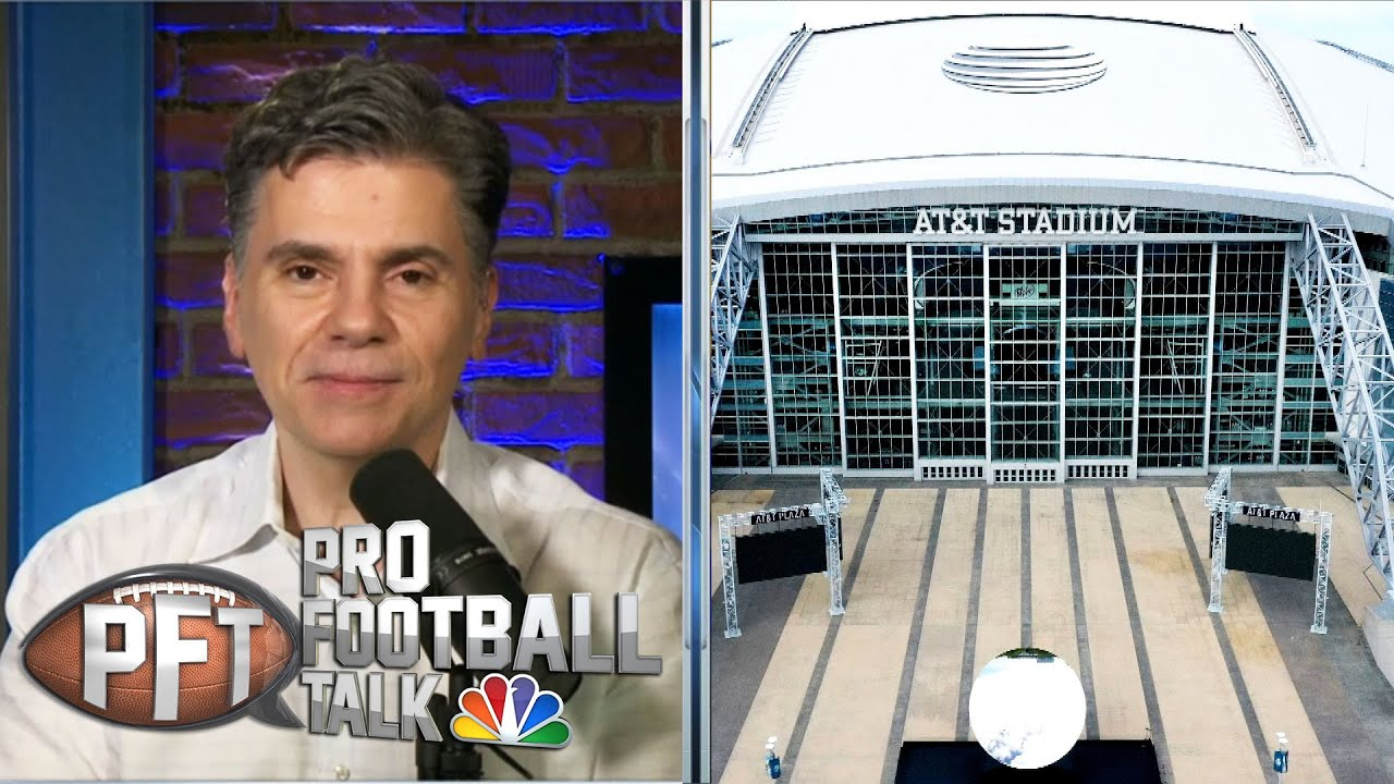 PFT Draft: NFL stadiums you'd want to rent for vacation | Pro Football Talk | NBC Sports