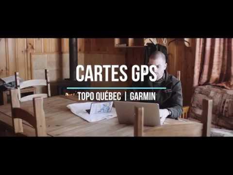 TrakMaps TOPO Québec pour GPS Garmin