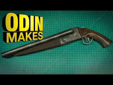 Odin Makes: Sawed-off shotgun from Mad Max and Evil Dead
