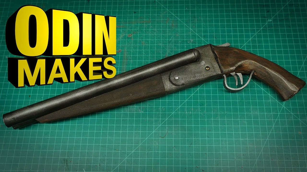 Odin Makes Sawed Off Shotgun From Mad Max And Evil Dead Youtube