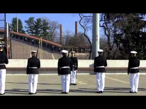 Massachusetts Maritime Academy Drill Team @ Cornell Univ. 2012 Drill Meet