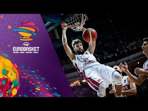 Latvia v Turkey - Full Game - FIBA EuroBasket 2017