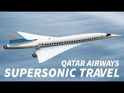 QATAR AIRWAYS Interested in SUPERSONIC Travel