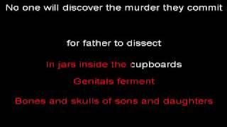 Cannibal Corpse- Split Wide Open karaoke