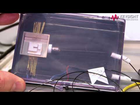 ECOC 2017 Demo: Parametric test of silicon & integrated photonics for 100G/400G