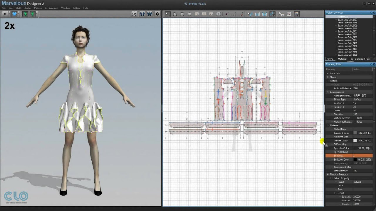 CLO 3D Fashion Design Software 38