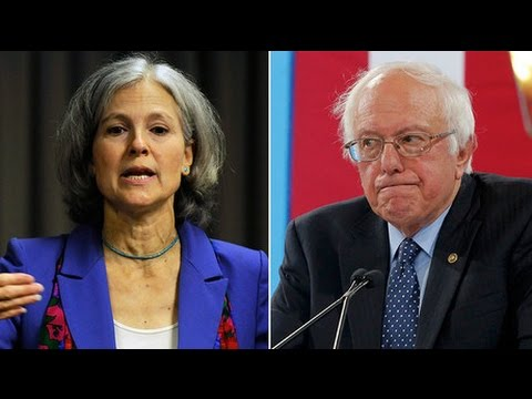 "Bernie Sanders supporters ""burned"" by Democratic Party – Jill Stein"