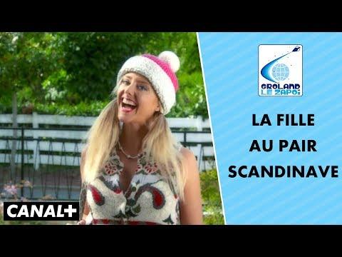 La jeune fille au pair scandinave - Groland le Zapoï du 30/09 - CANAL+