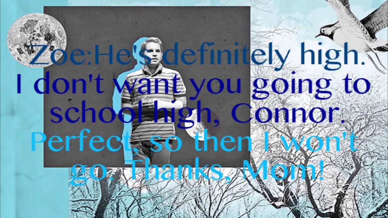 Any Have A Map -Dear Evan Hansen lyrics (clean) - YouTube Doe Liry Map on