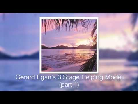egans three stage integrated model Egan's skilled helper model this is a model used a lot in counselling or coaching situations where the object is to achieve lasting  the model has three stages .