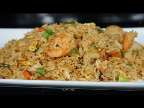 Easy Shrimp Fried Rice Recipe | How To Make Chinese Fried Rice | Better Than Take Out