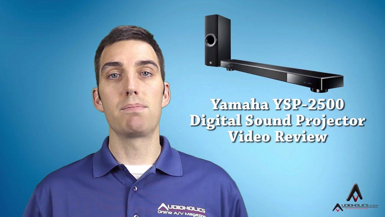 yamaha ysp 2500 soundbar digital sound projector video. Black Bedroom Furniture Sets. Home Design Ideas