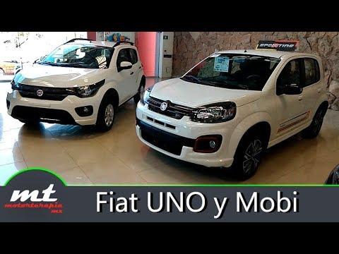 Fiat UNO y Mobi 2019 - ¿Que cambió? / Vista Rápida