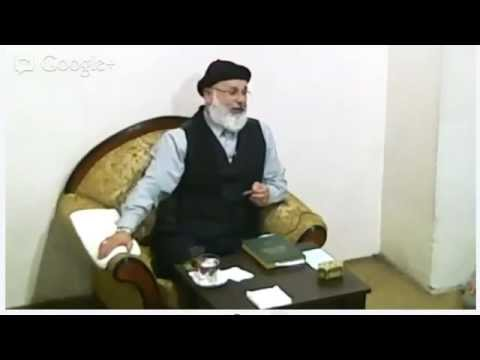 1 Kasım 2012 Sohbeti - Mustafa Özbağ Efendi